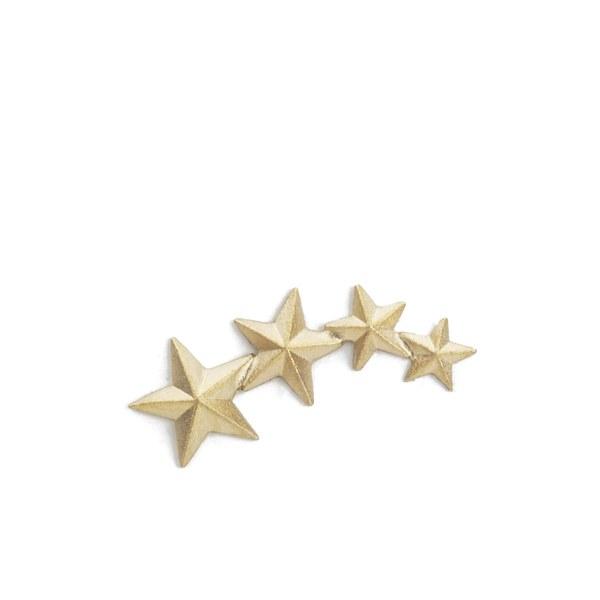 Line & Jo Women's Miss Ewell Gold Star Earring (Right)