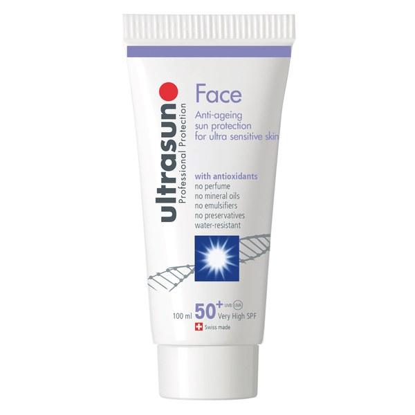 Ultrasun 50+ LSF Gesichtslotion(100ml)