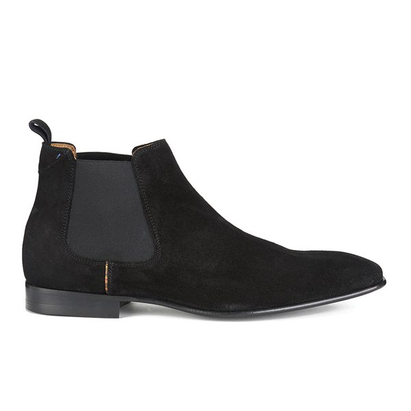 Shoes men s falconer suede chelsea boots black free uk delivery
