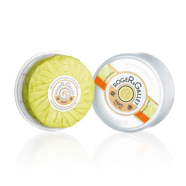 Roger&Gallet Fleur d'Osmanthus Round Soap Travel Box 100g