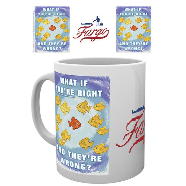 Fargo Right and Wrong Mug