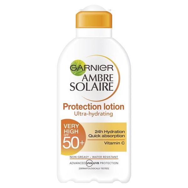 Garnier Ambre Solaire Milk SPF50 Vitamin C (200ml)