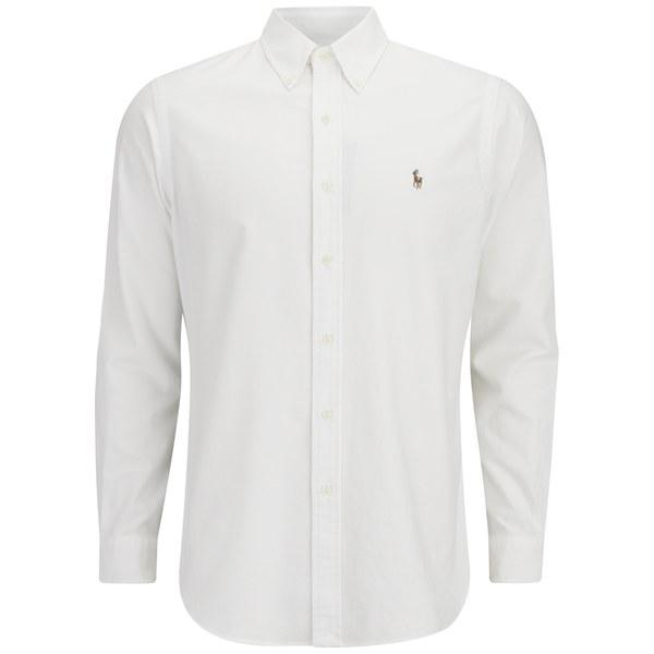 Polo Ralph Lauren Men's Long Sleeved Shirt - White