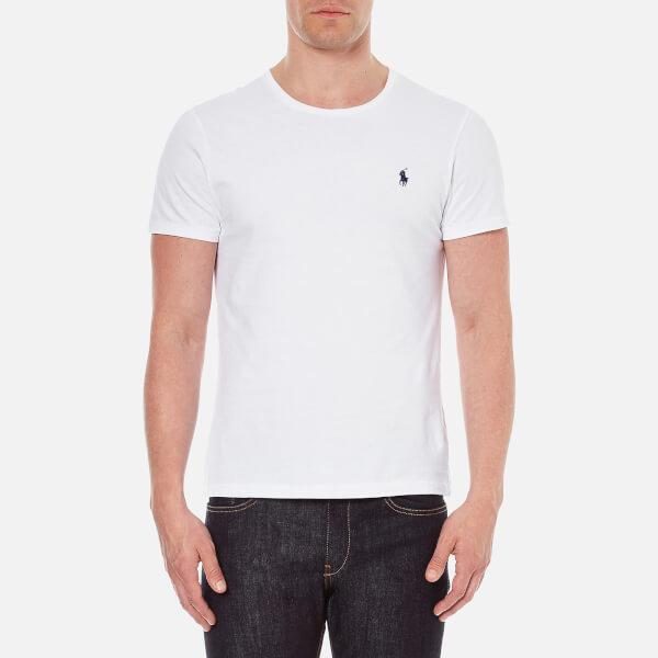 Polo Ralph Lauren Men's Short Sleeved Crew Neck T-Shirt - White