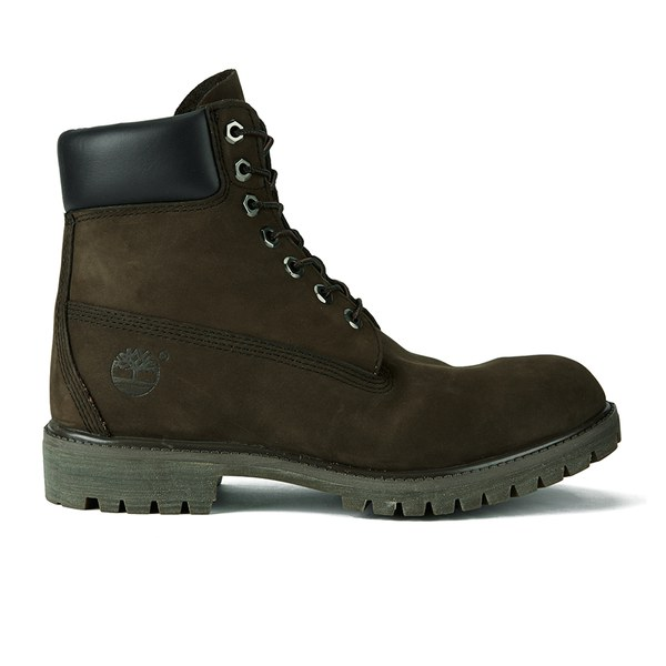 Timberland Men's Icon 6 Inch Premium FTB Leather Boots - Dark Chocolate