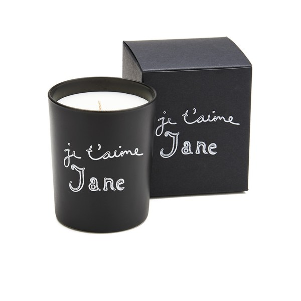 Bella Freud Je T'aime Jane Candle - Black