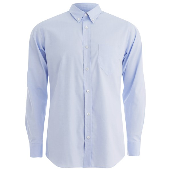 Private White VC Men's Button-Down Oxford Shirt - Blue