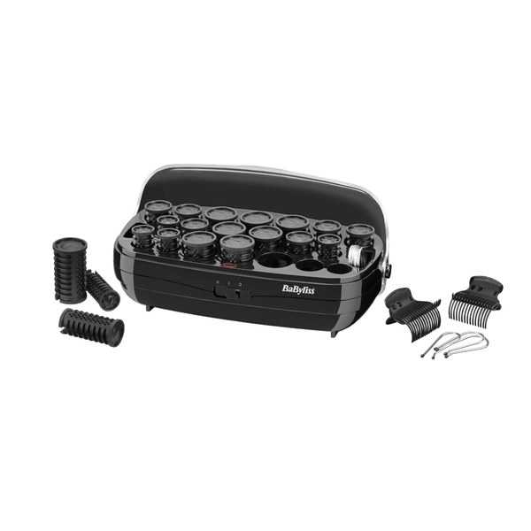 BaByliss Thermo-Ceramic Hair Rollers - Black