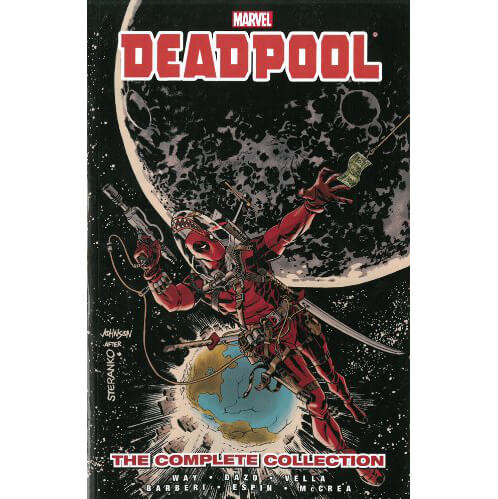Marvel Deadpool by Daniel Way: The Complete Collection - Volume 3 Graphic Novel