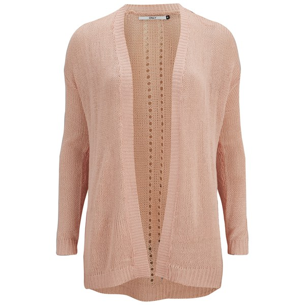 Women'S Cardigan Peach 39