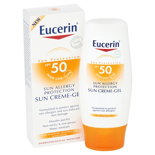 eucerin sun protection sun allergy protection sun creme. Black Bedroom Furniture Sets. Home Design Ideas