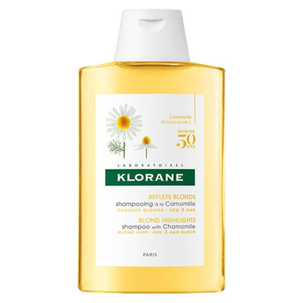Champú de manzanilla cabello rubio KLORANE (200ml)