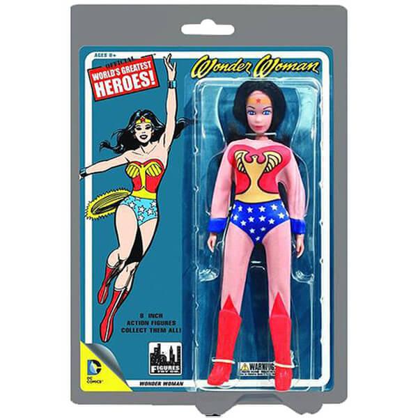 Mego DC Comics Wonder Woman 8 Inch Action Figure