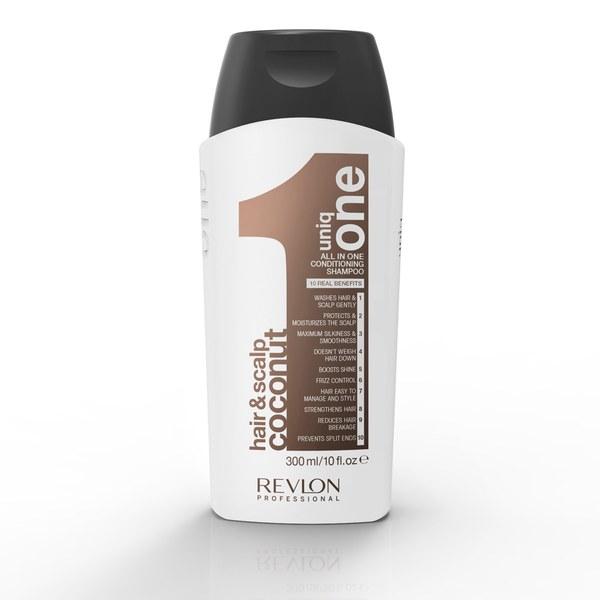Uniq One Coconut Hair and Scalp Conditioning Shampoo (300ml)