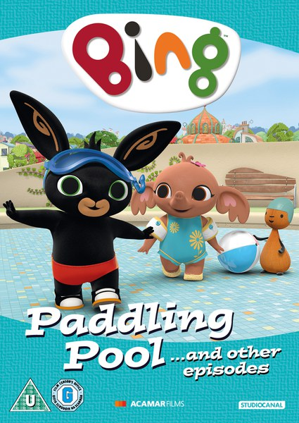 Bing paddling pool and other episodes dvd for Pop up paddling pool