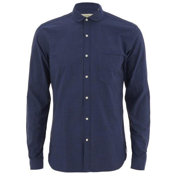 Bath Travel Broadstone: Oliver Spencer Men's Eton Collar Long Sleeve Shirt