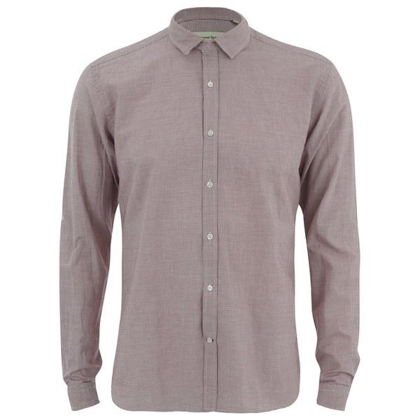 Bath Travel Broadstone: Oliver Spencer Men's Clerkenwell Tab Long Sleeve Shirt
