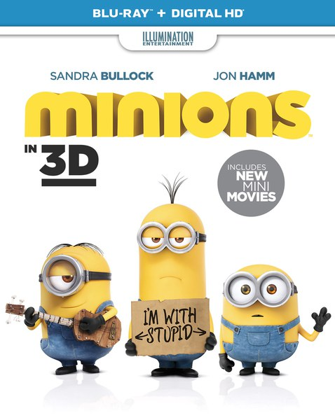 Minions bluray release date in Brisbane