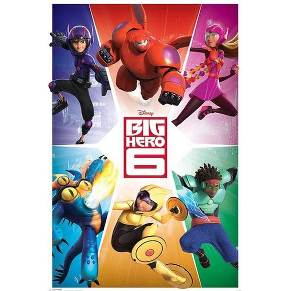 Disney Big Hero 6 Team - 24 x 36 Inches Maxi Poster