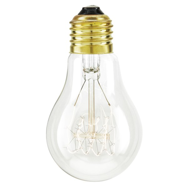 Nkuku Pear Screw Filament Light Bulb - 10 x 6cm