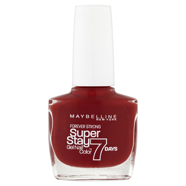 Maybelline Forever Strong Nagellack - Tiefrot