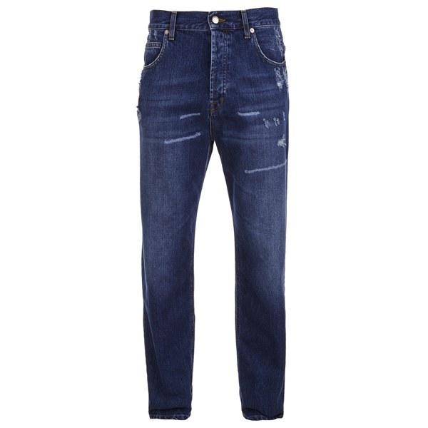 McQ Alexander McQueen Men's Loose Jeans - Vintage Medium Blue