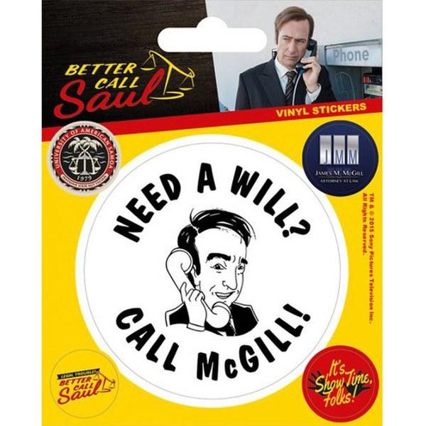 Better Call Saul Sticker Merchandise Us Zavvi Com