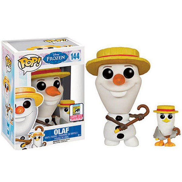 Disney Frozen Barber Olaf With Seagull SDCC Exclusive Pop! Vinyl Figure