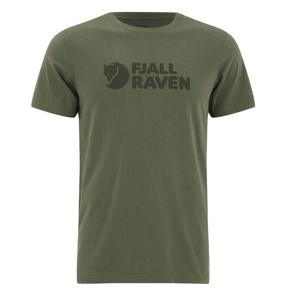 Fjallraven Men's Logo T-Shirt - Green