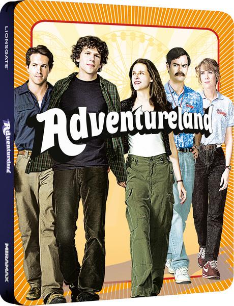 Adventureland Zavvi Exclusive Limited Edition Steelbook