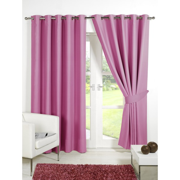 Soft Pink Blackout Curtains Bright Orange Blackout Curta