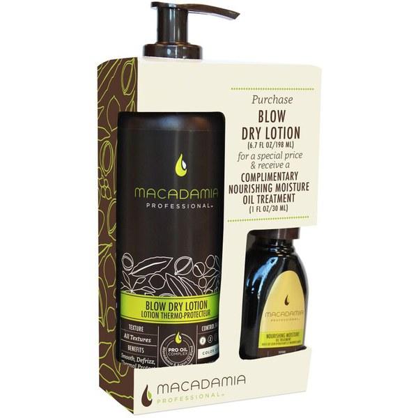 Blow Dry Lotion Duode Macadamia (30 ml de aceite gratuito)