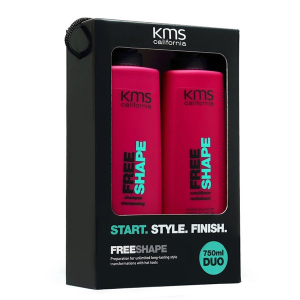 KMS California Freeshape Shampoo and Conditioner Duo (750ml)