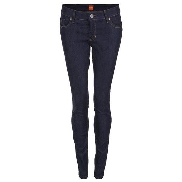 boss orange women 39 s j20 lunja jeans navy clothing. Black Bedroom Furniture Sets. Home Design Ideas