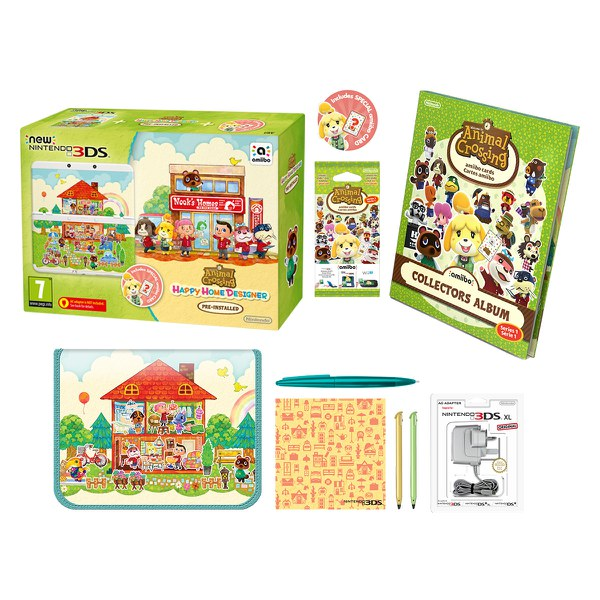 New Nintendo 3ds Animal Crossing Happy Home Designer Pack Nintendo Uk Store