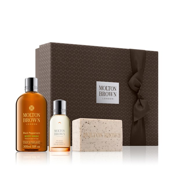 Molton brown re charge black pepper fragrance gift set for Best molton brown scent