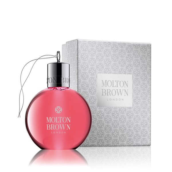 molton brown pink pepperpod festliche christbaumkugel duschgel 75ml gratis lieferservice. Black Bedroom Furniture Sets. Home Design Ideas