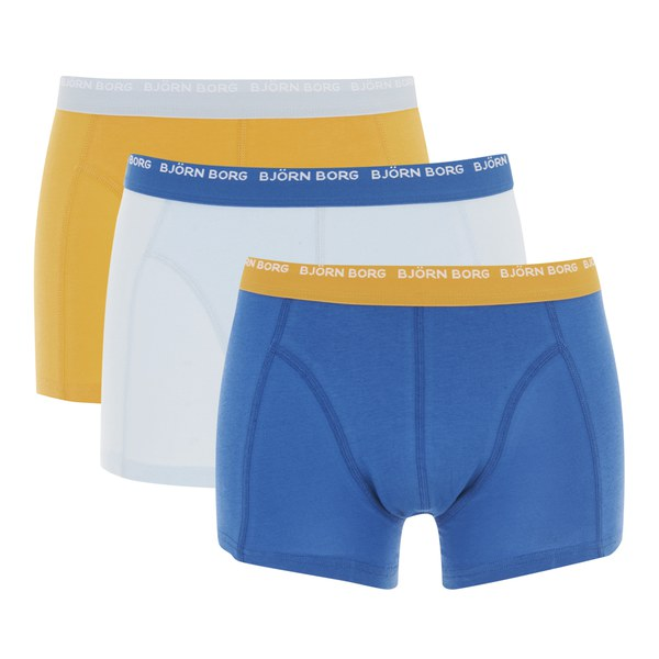 bjorn borg men 39 s 3 pack boxer shorts omphalodes mens underwear. Black Bedroom Furniture Sets. Home Design Ideas