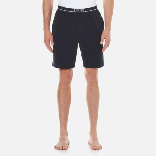 BOSS Hugo Boss Men's Cotton Lounge Shorts - Navy