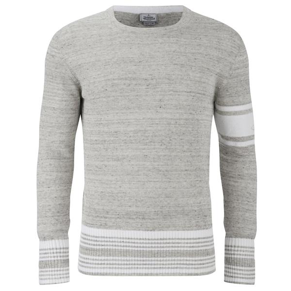 Vivienne Westwood MAN Men's Wayne Round Neck Sweatshirt - Grey