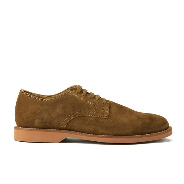 Polo Ralph Lauren Men's Cartland Suede Derby Shoes - Snuff
