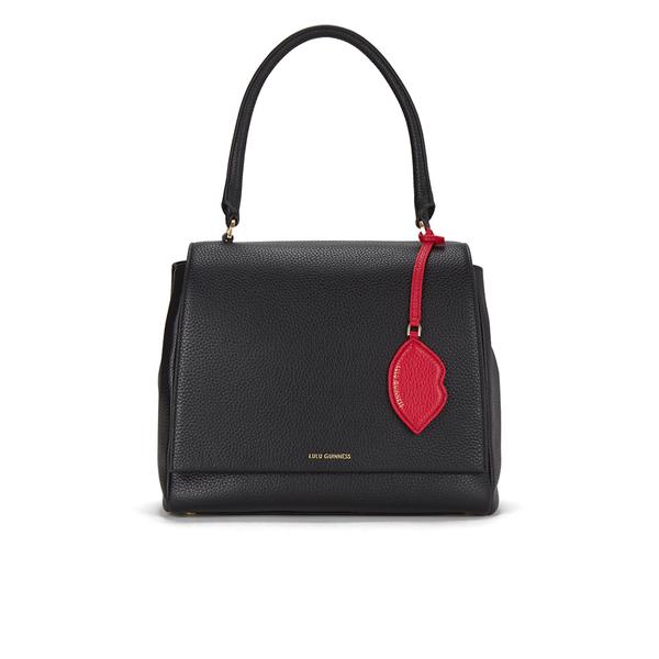 Lulu Guinness Women's Rita Large Grab Tote Bag - Black