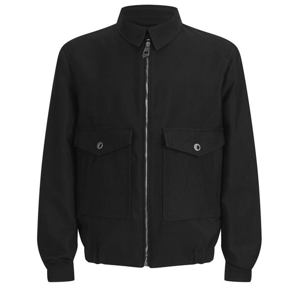 Versace Collection Men's Pocket Detail Jacket - Black