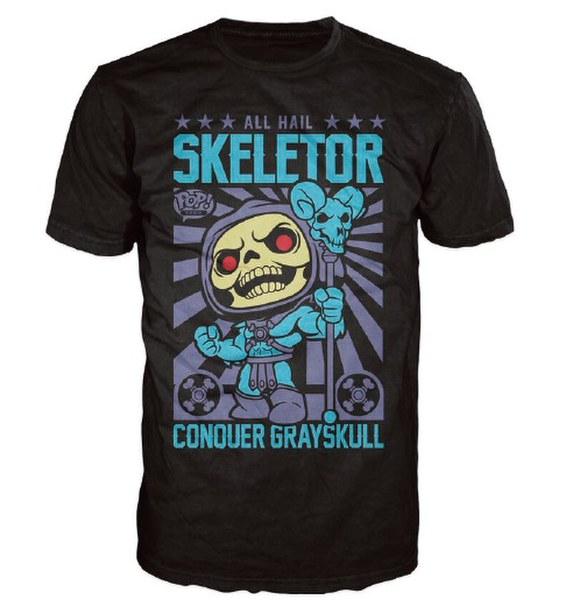 Master of the Universe Skeletor Pop! T-Shirt - Black