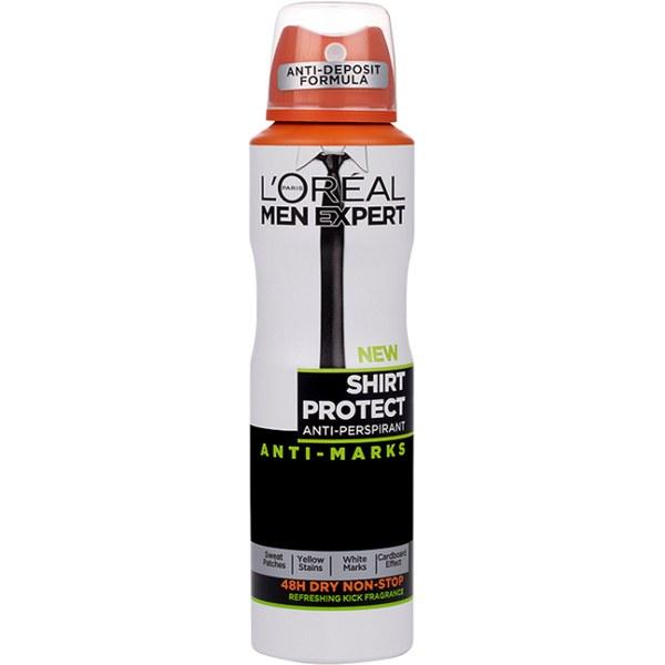 Déodorant Fresh KickShirt ProtectMen Expert L'Oréal Paris 250 ml