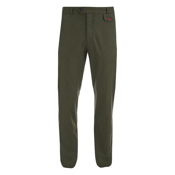 Oliver Spencer Men's Fishtail Trousers - Calvert Green