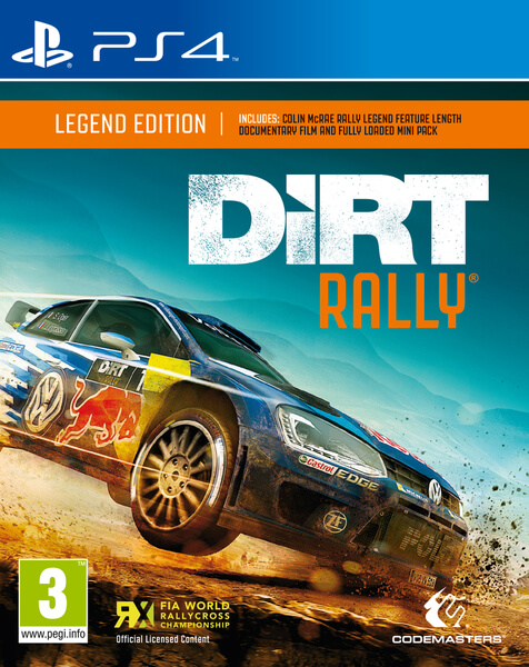 dirt rally ps4. Black Bedroom Furniture Sets. Home Design Ideas