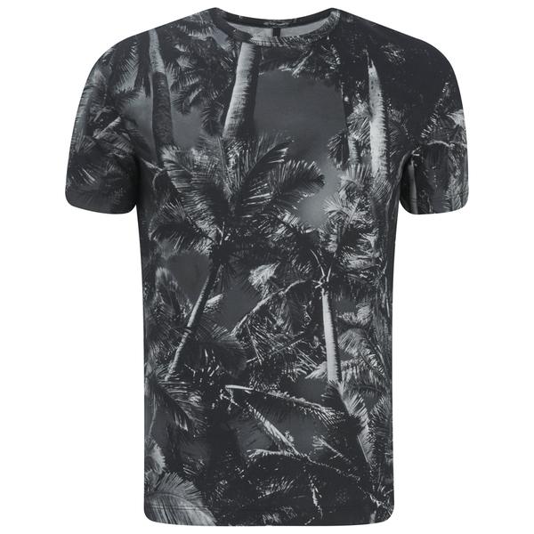 Versus Versace Men's All Over Print T-Shirt - Grey