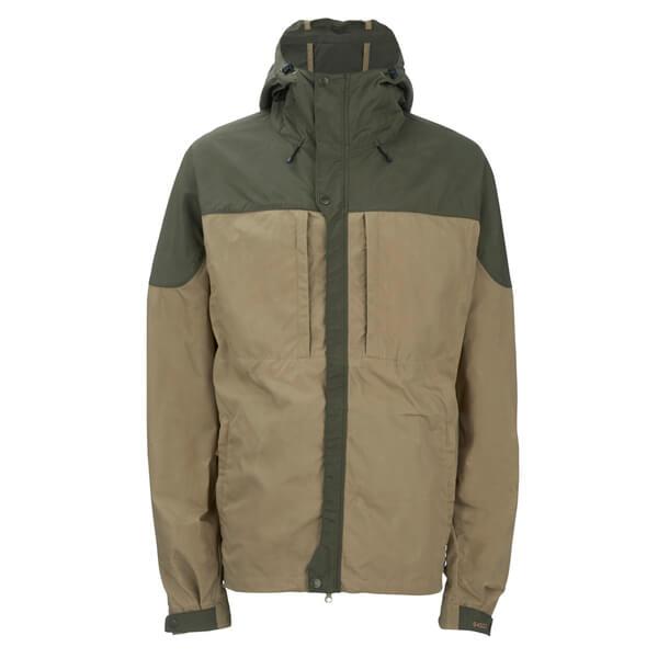Fjallraven Men's Skogso Mid Length Jacket - Sand/Tarmac