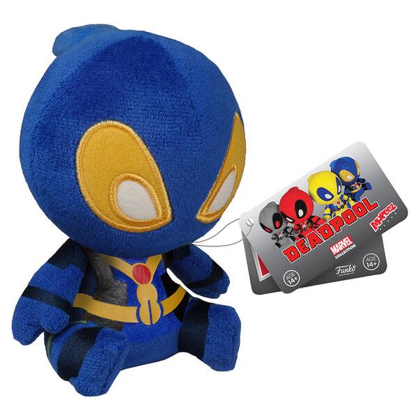 Mopeez Marvel Blue Deadpool Figure